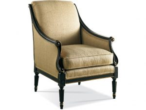 Hilton Head Furniture - Sherrill Furniture Carved Chair 1146