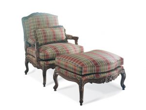 Hilton Head Furniture - Sherrill Furniture Carved Chair 1189