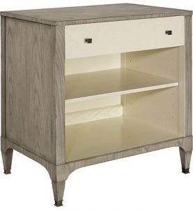 Hilton Head Furniture - Artisan Small Single Drawer Chest   Ash
