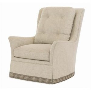 Hilton Head Furniture - Aster Skirted Swivel Chair