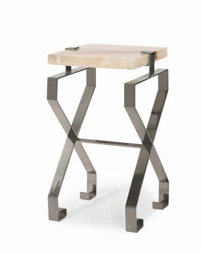 Hilton Head Furniture Store -  Baotou Martini Table With Onyx Top