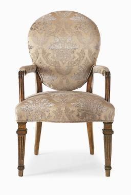 Hilton Head Furniture - Cameo Back Arm Chair Cameo Back Arm Chair 1