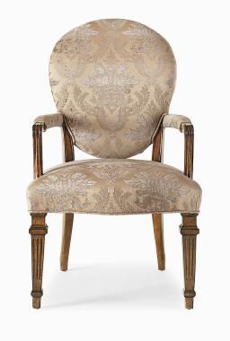 Hilton Head Furniture Store -  Cameo Back Arm Chair 1