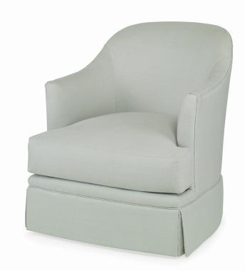 Hilton Head Furniture - Carina Skirted Swivel Chair Carina Skirted Swivel Chair 1
