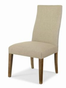 Hilton Head Furniture - Chandler Curved Back Exposed Wood With Straight Top