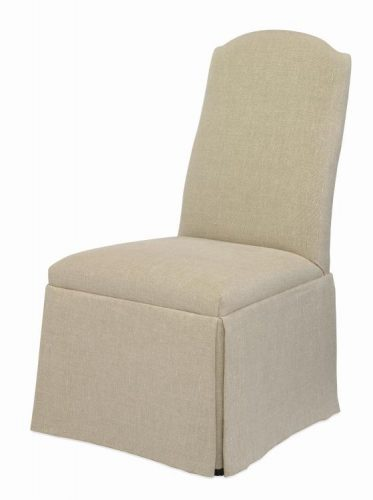 Hilton Head Furniture Store -  Chandler Curved Back With Arch Top Chair With Casters