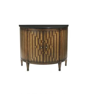 Hilton Head Furniture - Continental Demi Lune Cabinet