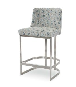 Hilton Head Furniture - Copenhagen Brass Bar Stool