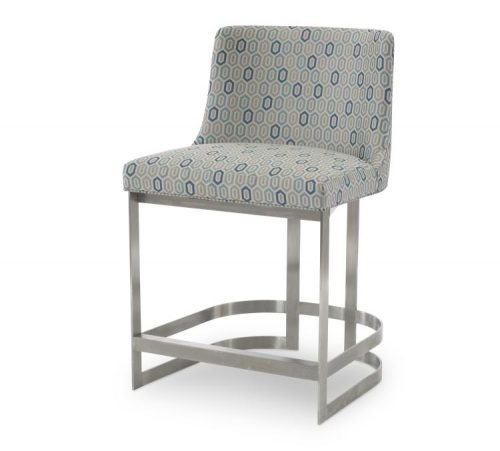 Hilton Head Furniture Store -  Copenhagen Stainless Counter Stool