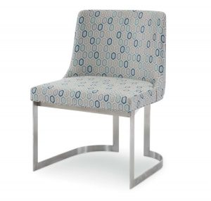 Hilton Head Furniture - Copenhagen Stainless Side Chair