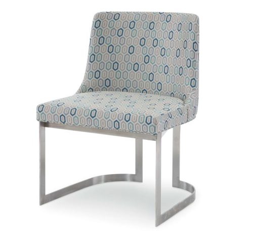 Hilton Head Furniture Store -  Copenhagen Stainless Side Chair