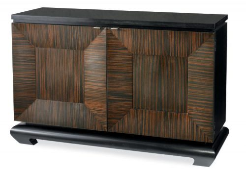 Hilton Head Furniture -  Door Chest With Granite Top