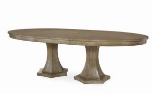 Hilton Head Furniture - Tribeca Double Pedestal Dining Table