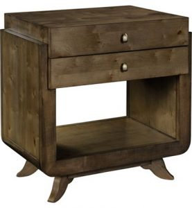 Hilton Head Furniture - Dove Side Table/Night Stand