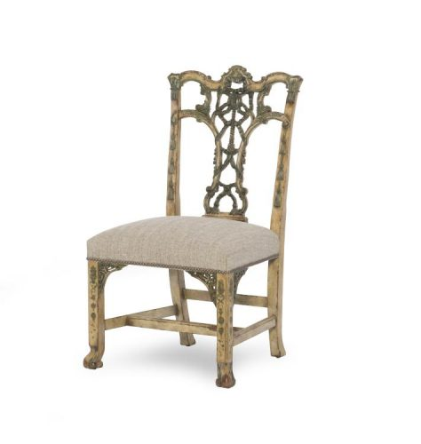 Hilton Head Furniture Store -  Emma Hand Painted Arm Chair