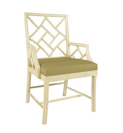Hilton Head Furniture Store -  Fretwork Arm Chair