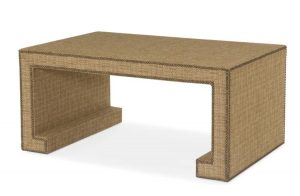 Hilton Head Furniture - Fully Upholstered Cocktail Table