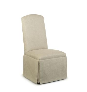 Hilton Head Furniture Store -  Hollister Strght Back Sleep Top Chair With Casters 1