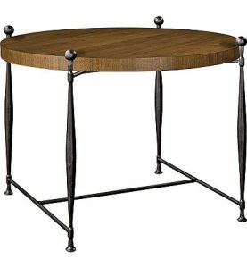 Hilton Head Furniture - Ionia Side Table With Round Wood Top