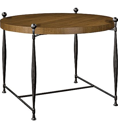 Hilton Head Furniture Store -  Ionia Side Table With Round Wood Top