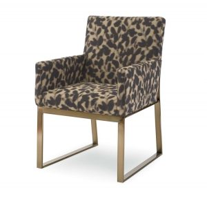Hilton Head Furniture Store - Iris Brass Arm Chair