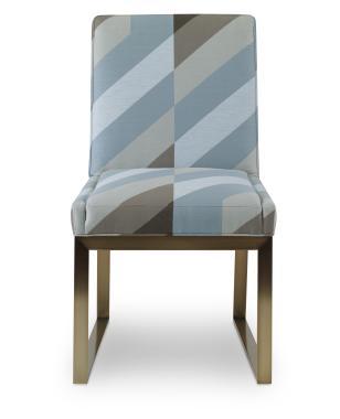 Hilton Head Furniture Store -  Iris Brass Side Chair 1