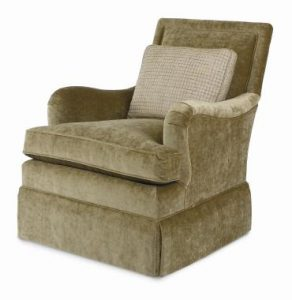 Hilton Head Furniture - Joel Skirted Swivel Glider