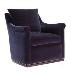 Hilton Head Furniture - Jules Low Profile Swivel Chair