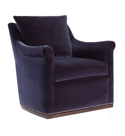 Hilton Head Furniture -  Jules Low Profile Swivel Chair