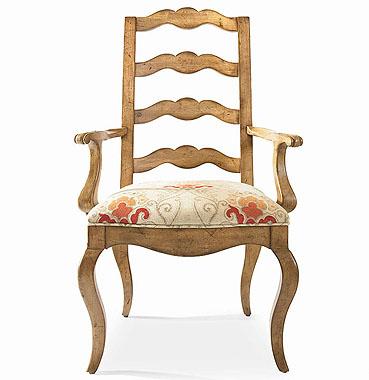 Hilton Head Furniture Store -  Ladderback Arm Chair 1