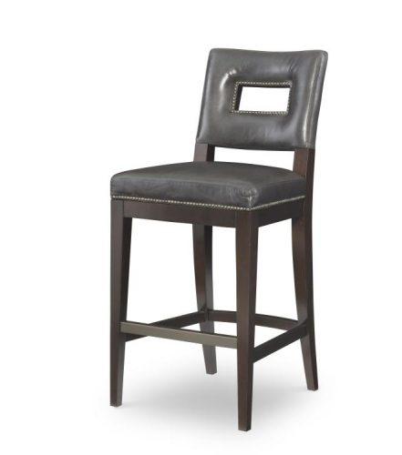 Hilton Head Furniture -  Leather Bar Stool
