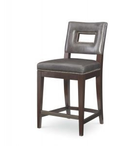Hilton Head Furniture Store - Leather Counter Stool