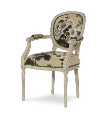 Hilton Head Furniture Store -  Louis Xvi Arm Chair 1