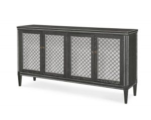 Hilton Head Furniture - Mesh Front Sideboard