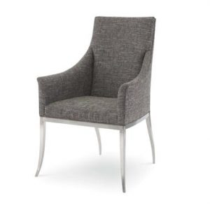 Hilton Head Furniture Store - Mica Stainless Arm Chair