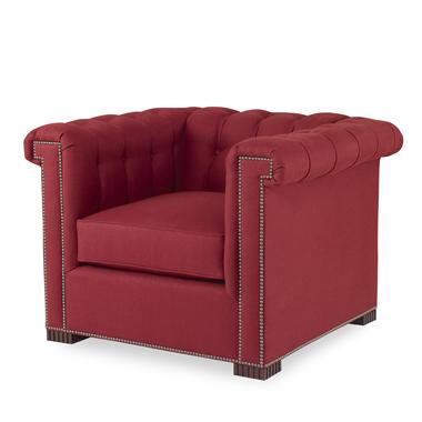 Hilton Head Furniture - Modern Chesterfield Chair Modern Chesterfield Chair 1
