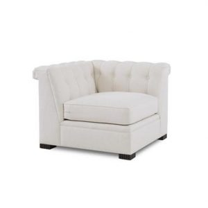 Hilton Head Furniture - Modern Chesterfield Corner Chair