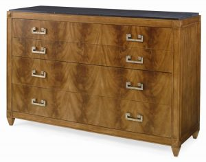 Hilton Head Furniture - Nordic Chest With Marble Top