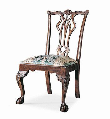 Hilton Head Furniture Store -  Pierced Back Side Chair 1
