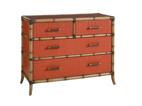 Hilton Head Furniture Store -  Red Coral Chest