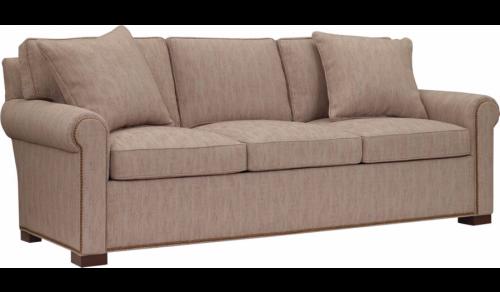 Hilton Head Furniture -  Silhouettes Raised Panel Lawson Arm Sleep Sofa