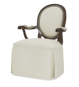 Hilton Head Furniture - Skirted Upholstered Back Chair