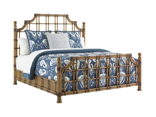 Hilton Head Furniture Store -  St. Kitts Rattan Bed