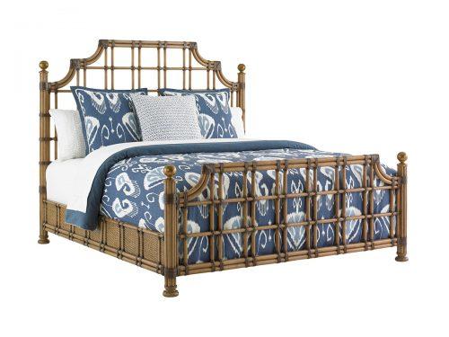 Hilton Head Furniture -  St. Kitts Rattan Bed