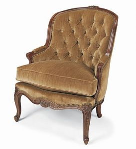 Hilton Head Furniture - Tufted French Chair