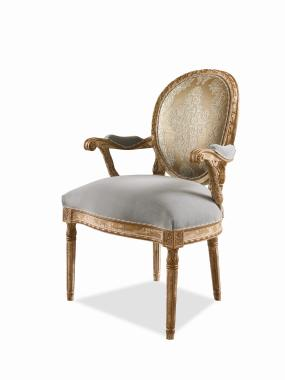 Hilton Head Furniture - Upholstered Back Chair Upholstered Back Chair 1