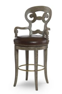 Hilton Head Furniture - Vienna Swivel Bar Stool