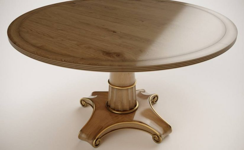 Hilton Head Furniture - The LuceraPedestalTable