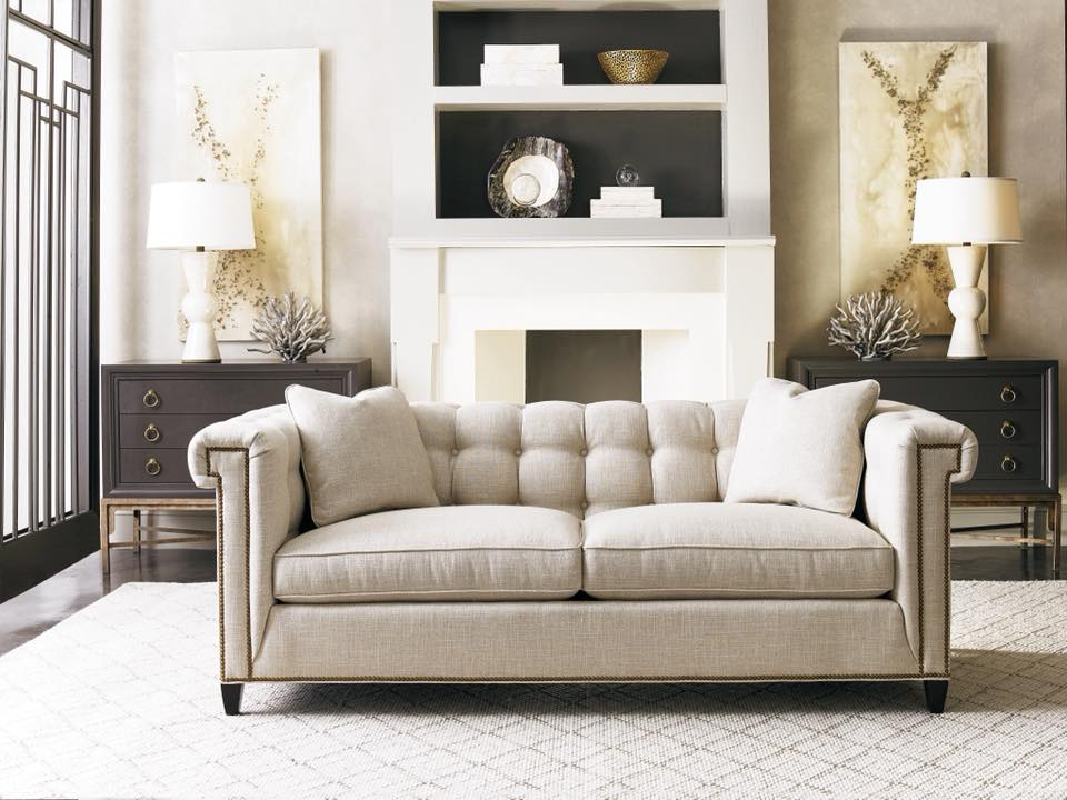 Today S Fashion The New 3164 3 Sofa In Joiner Camel From Sherrill
