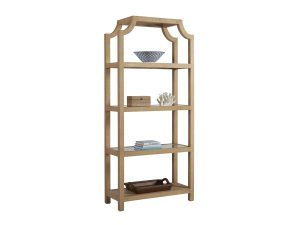 Hilton Head Furniture Store - Beachcomber Raffia Etagere
